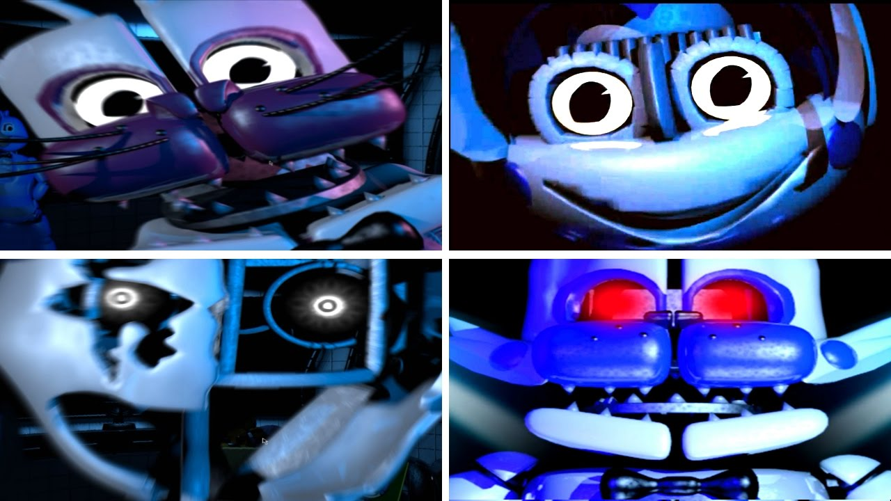 Five Nights at Freddy's    Jolly ALL JUMPSCARES