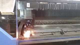 HK Laser & Systems FL3015 CO2 Tube Laser Cutting