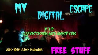 Answers to the MDE VIP meet up! Feat. FREE BAND MERCH!