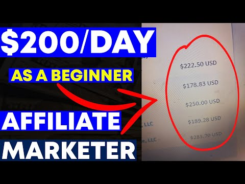 Affiliate Marketing For Beginners 👉👉Use This $200/DAY Strategy!