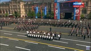 «Мы - армия страны» и марш «Прощание Славянки». Парад Победы 2018