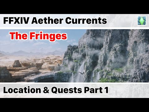 """FFXIV Aether Current Locations of """"The Fringes"""" Part 1 - Stormblood"""