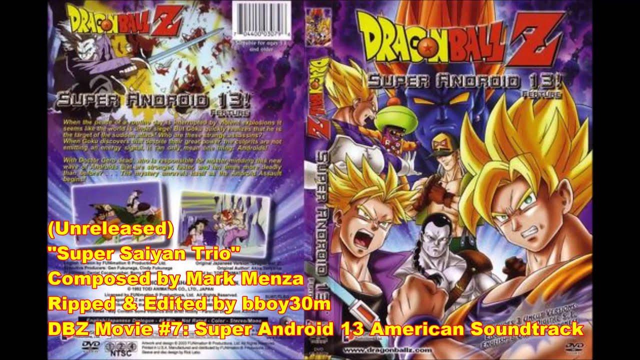 Dbz Movie 7 Super Android 13 Quot Super Saiyan Trio Quot Youtube