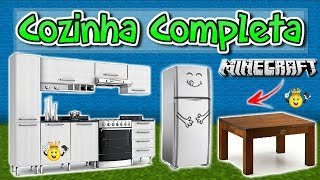 ★Como Decorar sua Cozinha Minecraft PE/PC/PS4/Xbox