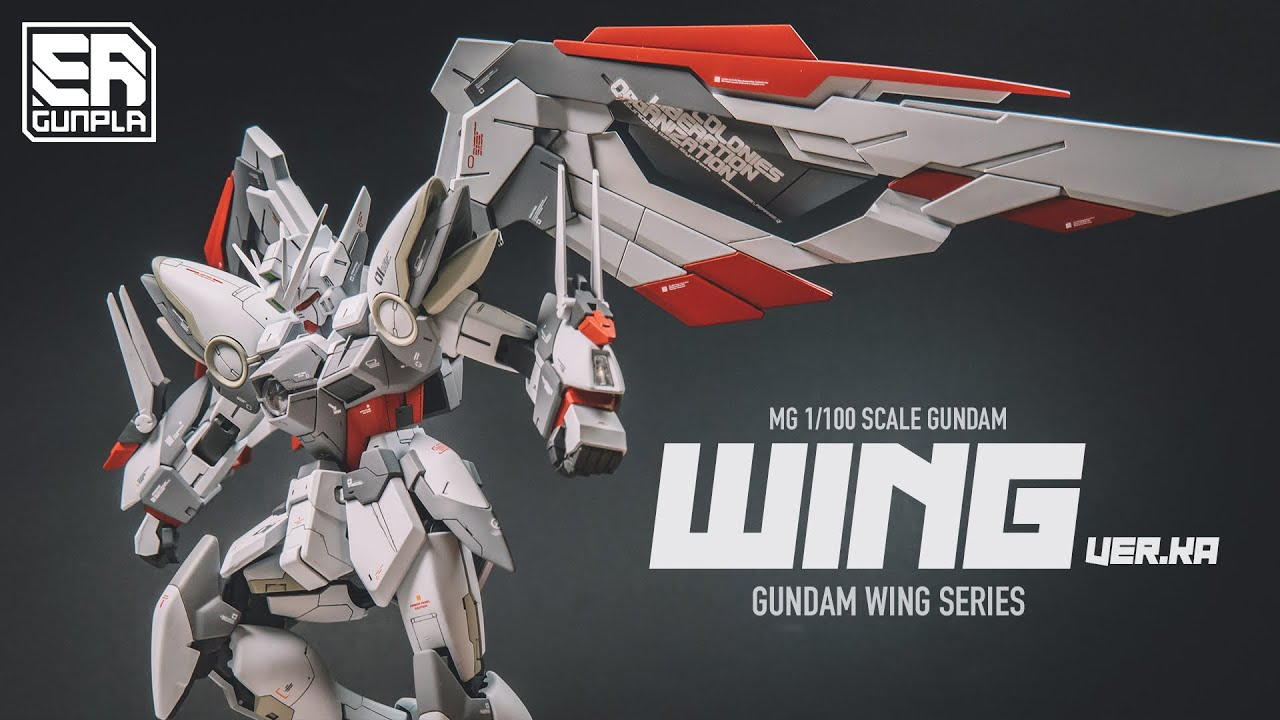 GUNPLA CUSTOM - MG WING VER.KA EW