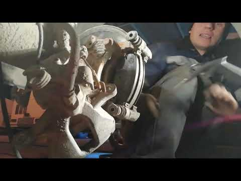 Замена  колодок форд транзит