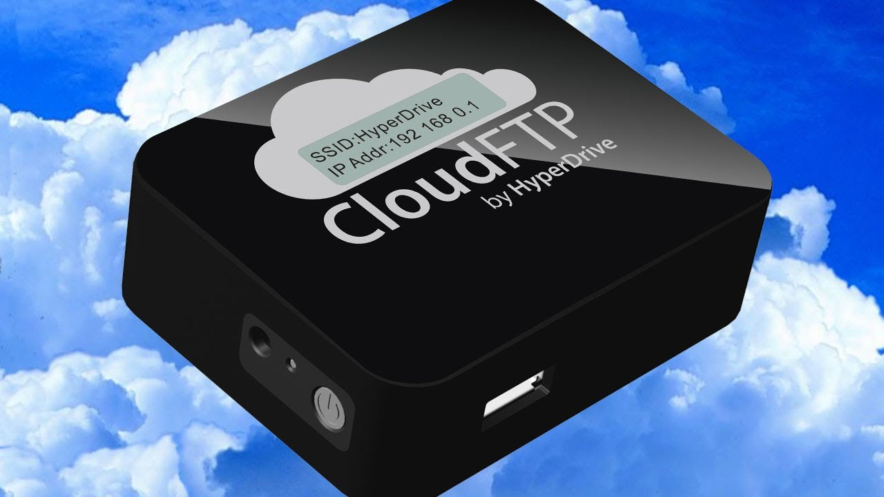 Hak5 - Wirelessly Share Any USB Storage with Cloud FTP