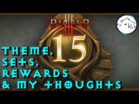 Diablo 3 Season 15 Boon Of Horadrim Theme, Sets, Cosmetics, And My ...