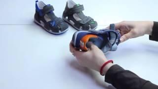 Обзор закрытых сандалий для мальчиков superfit
