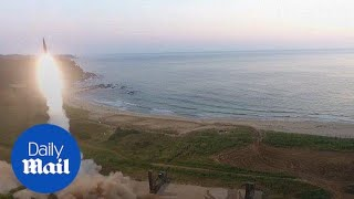 Video South Korea simulates attack on North Korea's nuclear sites - Daily Mail download MP3, 3GP, MP4, WEBM, AVI, FLV Maret 2018