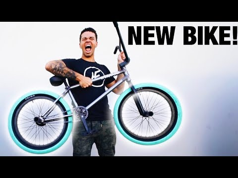 I GOT MY NEW BMX BIKE!