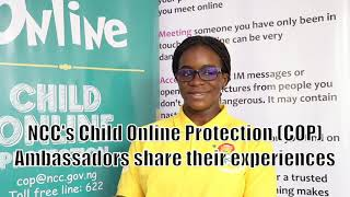 NCC's Child Online Protection Ambassadors share their experiences