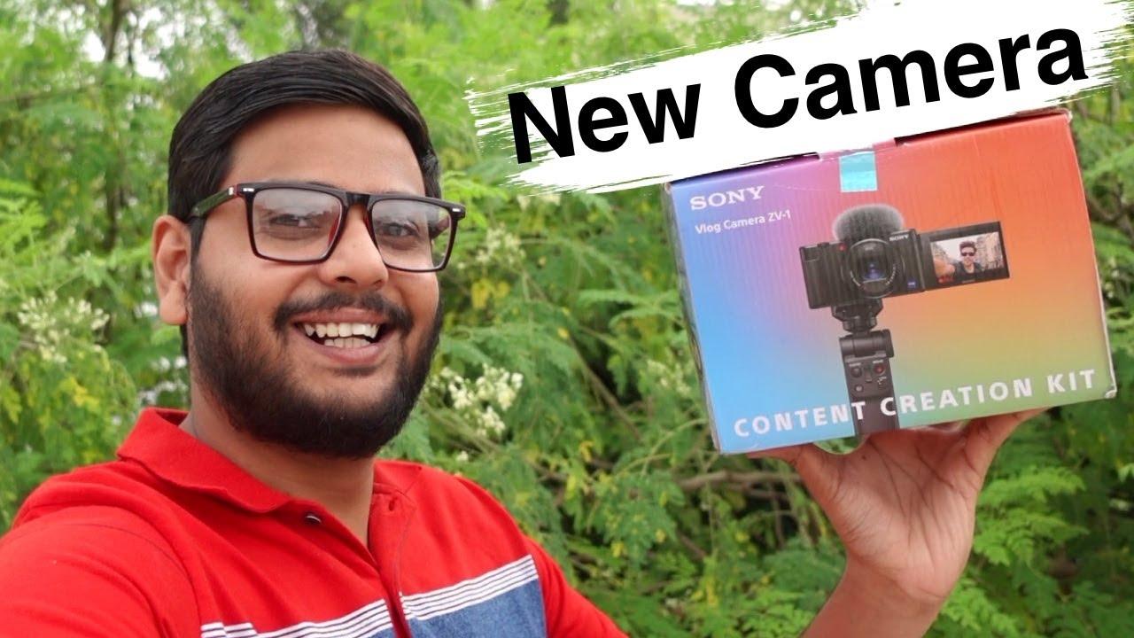 My New Sony Camera For Youtube 🔥  ZV-1