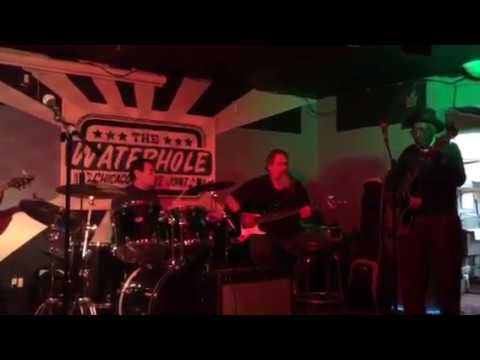 Elmore James Jr & the Broomdusters 12.1.17 @ Water Hole, Stepping With Elmo!