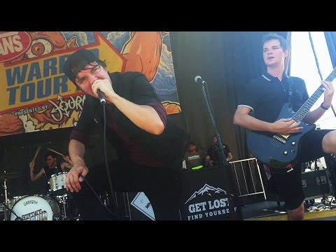Chunk! No, Captain Chunk!- In Friends We Trust (live Vans Warped Tour 2016)