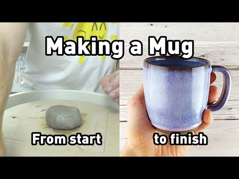 Making a Mug from Start to Finish – Limited Edition version