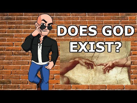 Does God exist? 'PROVING GOD EXISTS' - RockinMrE Video Response