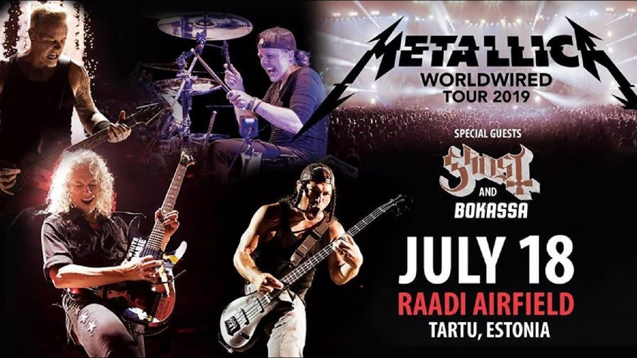 Metallica «Live in Estonia» 18 07 19 Tartu  video: Alex Kornyshev