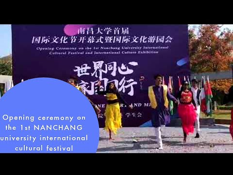 Nanchang university international cultural festival || one of my good international  exhibition