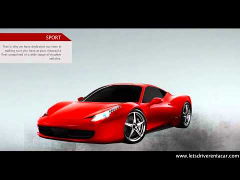 Lets Drive rent car in dubai uae.wmv