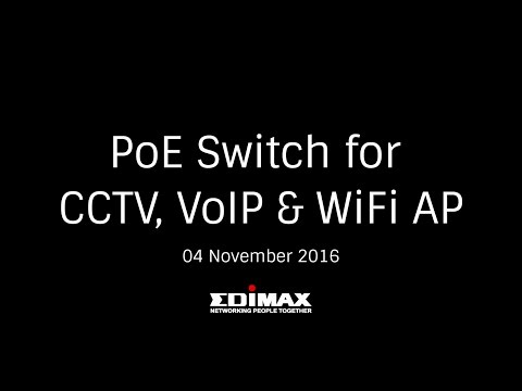 PoE Switch for CCTV, VoIP & Wi-Fi AP [04 November 2016]