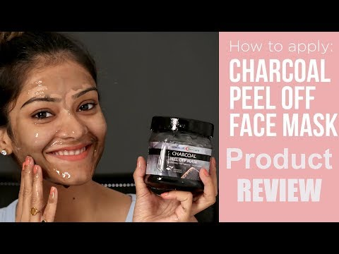DIY | Charcoal Peel Face Mask | Charcoal Face Mask Review | Product Review Tutorial | Foxy Makeup