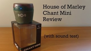 House of Marley Chant Mini Review