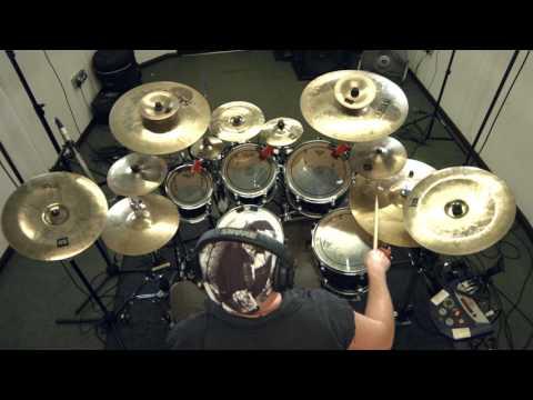 "SYNAPTIK ""Esc Ctrl""  Drum play through - progressive metal"