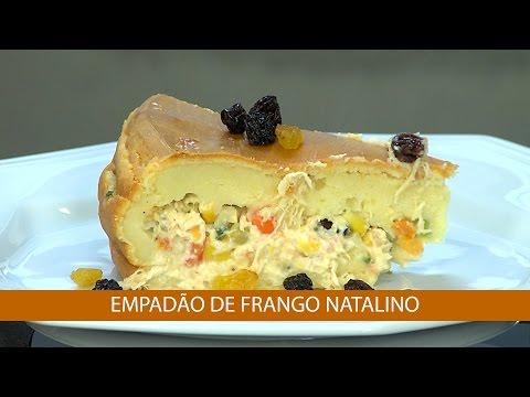 EMPADÃO DE FRANGO NATALINO E TILÁPIA AO LEITE DE COCO E CURY