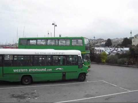 penzance bus station 110710.wmv