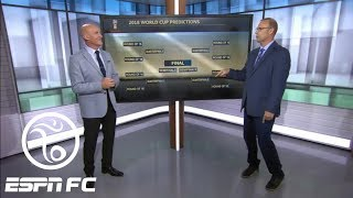 Stewart Robson predicts the group stage, knockout rounds at 2018 World Cup in Russia | ESPN FC