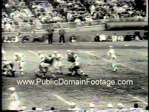 New York Giants lose to Cleveland Browns 52-20 in 1964