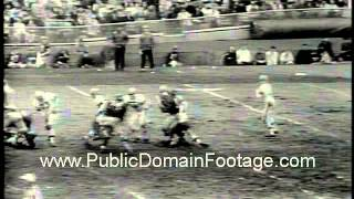 New York Giants lose to Cleveland Browns in conference championship 1964