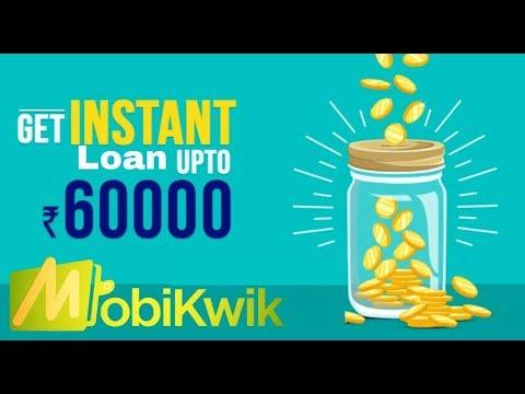 Mobikwik Instant Loan upto 60,000 in your wallet
