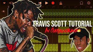 Travis Scott Beat Tutorial Using Garageband iPhone/iPad!