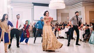 Bhangra Empire - Sim & Shelley's Reception Performance