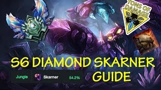 SKARNER DIAMOND JUNGLE GUIDE | PATCH 6.19 | - AK47
