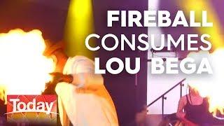 Lou Bega on his shocking stage moment   TODAY Show Australia