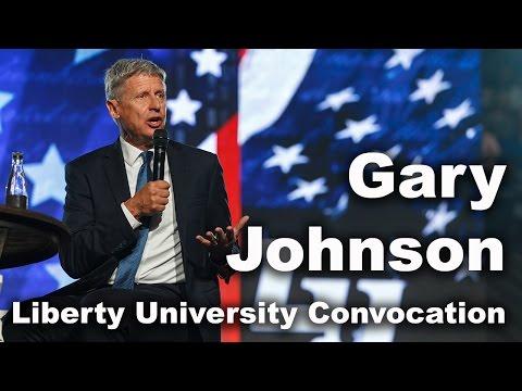 Gary Johnson - Liberty University Convocation