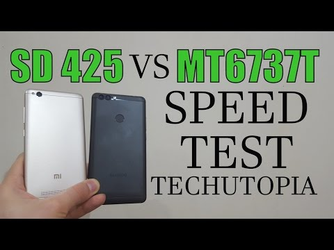 Snapdragon 425 vs MT6737T SPEED Test/Gaming/Benchmark/Comparison/Review(Adreno 308 vs mali t720)CPU