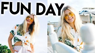 A FUN DAY: Ice Skating, Island Trip, & Forever21 Haul
