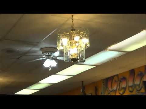 Banvil Envirofan Silverline Commercial/Industrial And Unknown Hugger Ceiling Fans