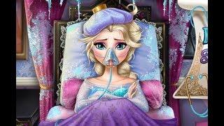 Эльза заболела гриппом (Elsa Frozen Flu Doctor)