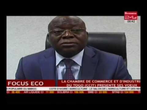 Focus Eco / La chambre de commerce et d'industrie du Togo (CCIT) présente ses voeux