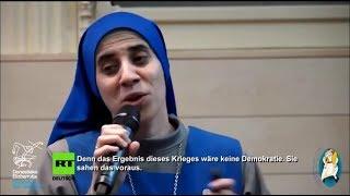 Монашка о Сирии говорит правду! Россия нас защищает