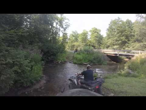 Riding Threw Creek Pottersdale Pa