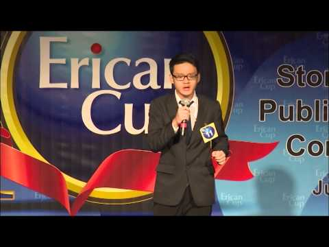 Erican Cup June 2015 – Public Speaking - Tan Zhi Yong – Muar – Just the Way You Are