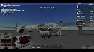 roblox flight kenya airways boeing 777 landing