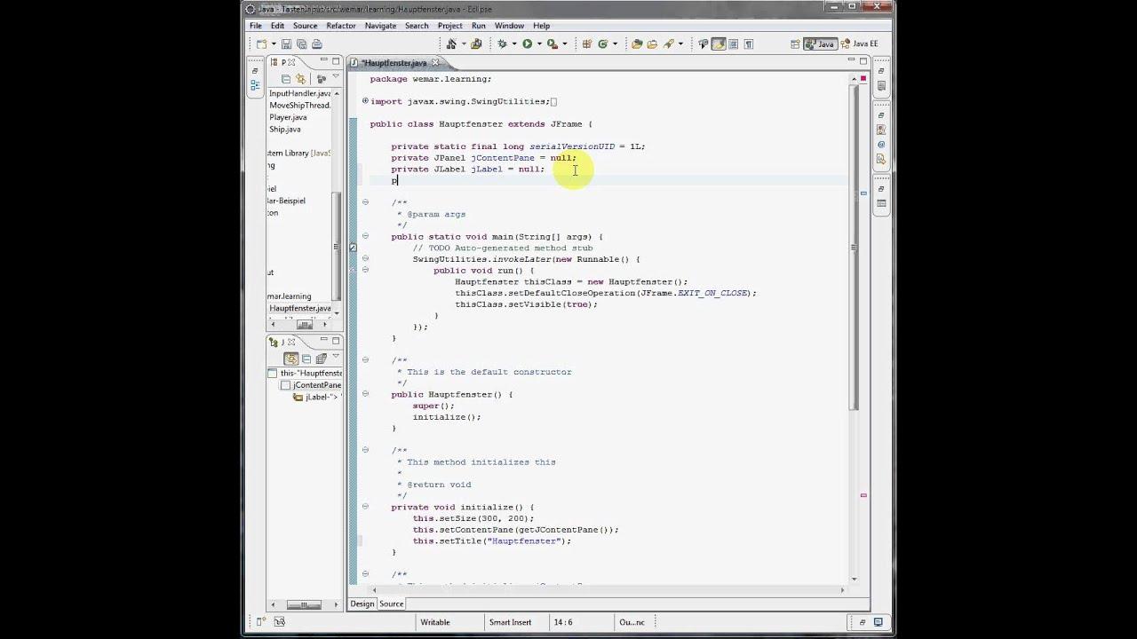 Java eclipse input von tastatur keylistener youtube java eclipse input von tastatur keylistener baditri Image collections
