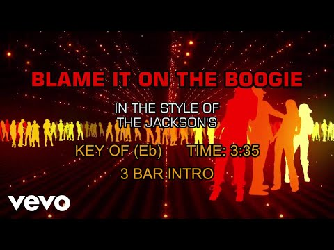 The Jacksons - Blame It On The Boogie (Karaoke)